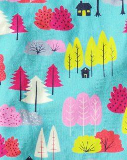 """Estampado Casitas colección """"En el bosque""""- Summer Cabin"""