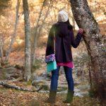 """Bolso bandolera estampado Flora, colección """"En el bosque""""- Summer Cabin"""