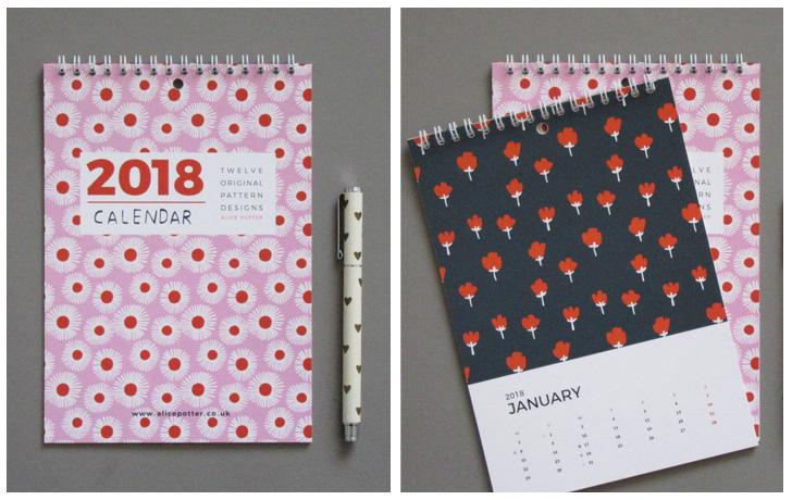 Calendarios bonitos 2018: Alice Potter