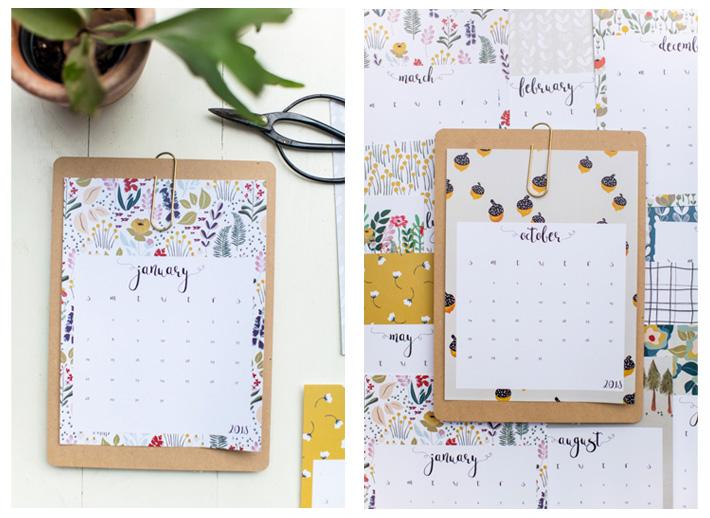 Calendarios bonitos: calendario gratuito descargable This Little Street