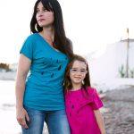 Camisetas madre e hija Lluvia